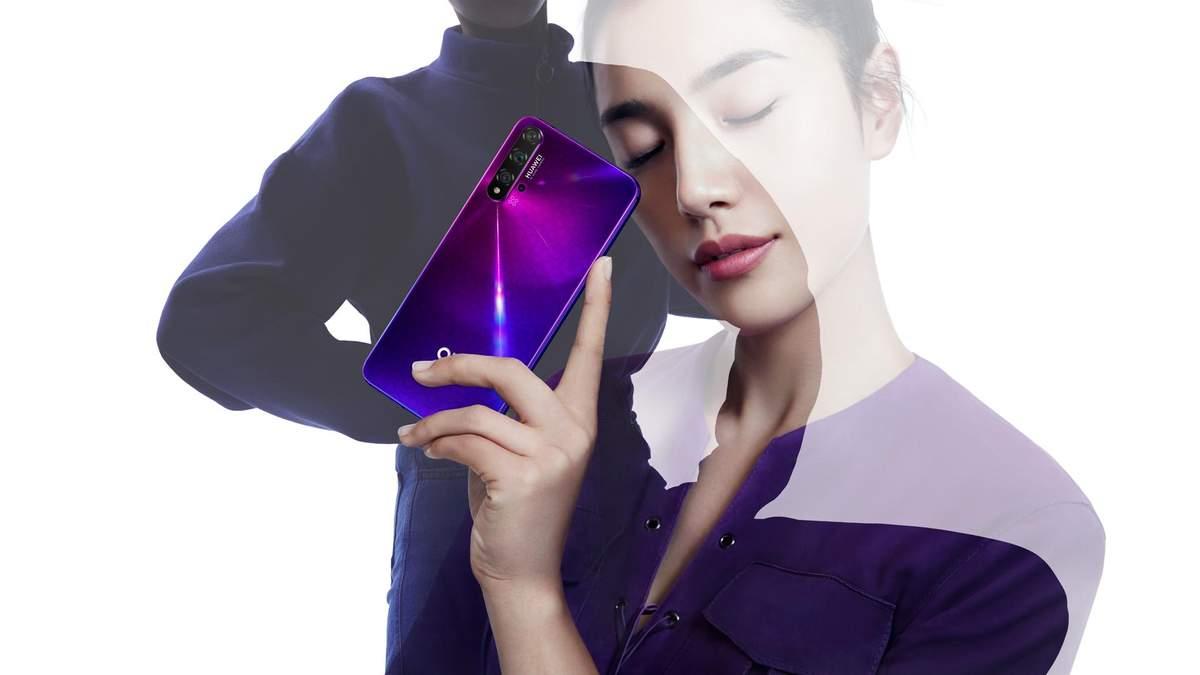Флагман Huawei Nova 5T – цена в Украине, технические характеристики