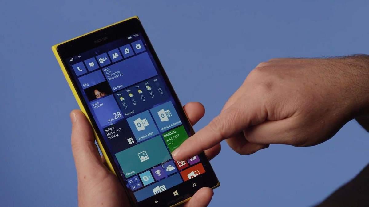 Microsoft неочікувано оновила операційну систему Windows 10 Mobile