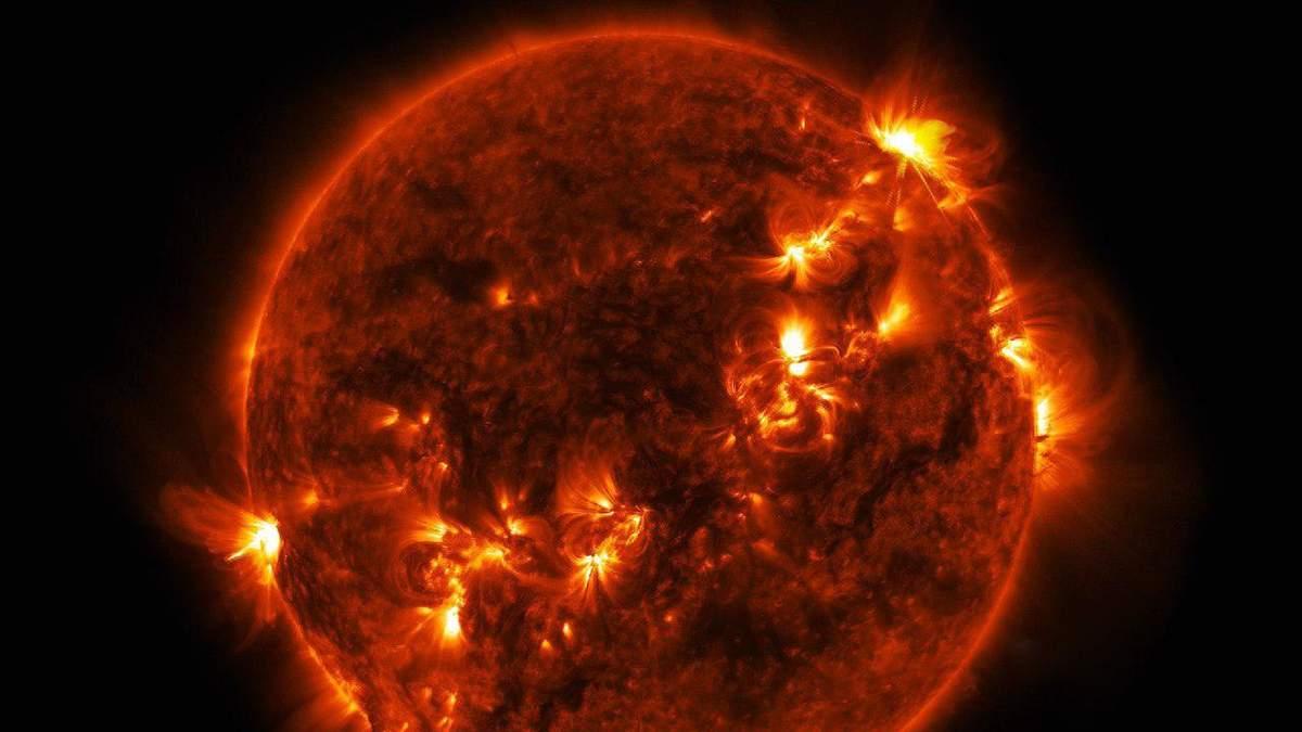 Бури на Солнце