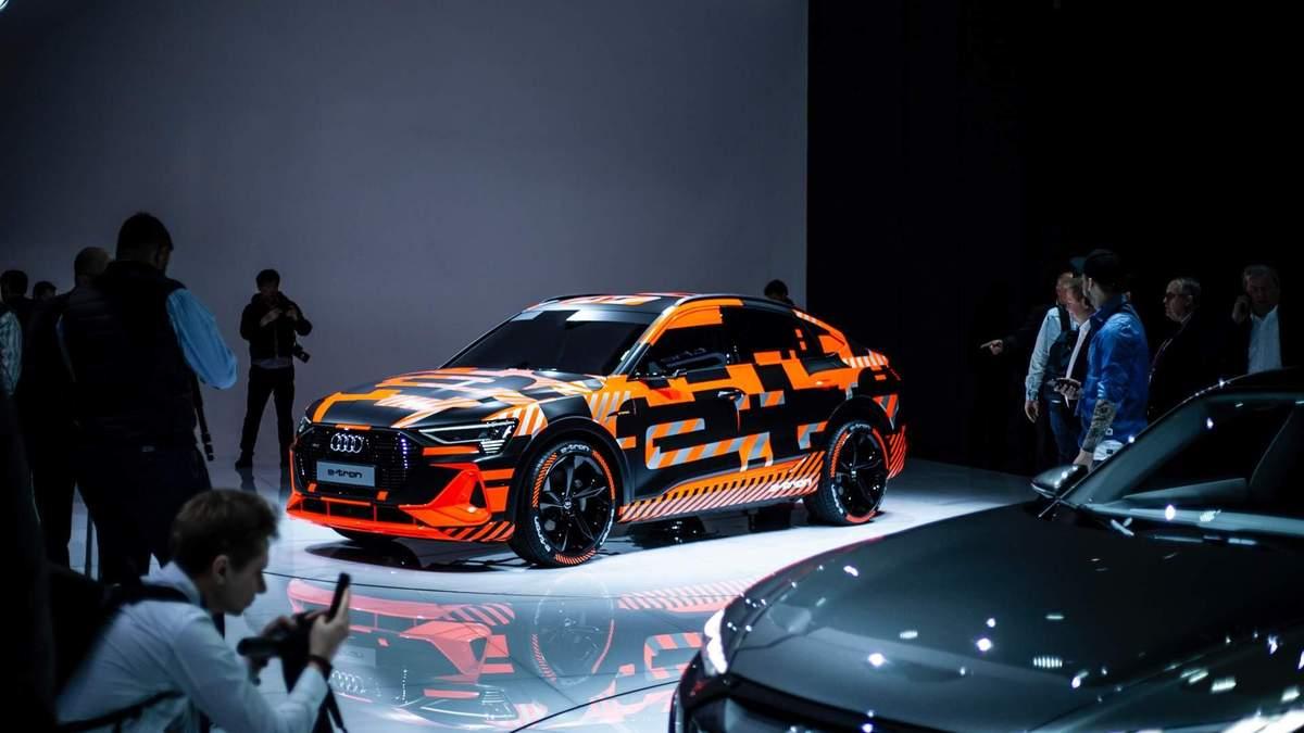 Обновленный электрокар Audi E-Tron Sportback