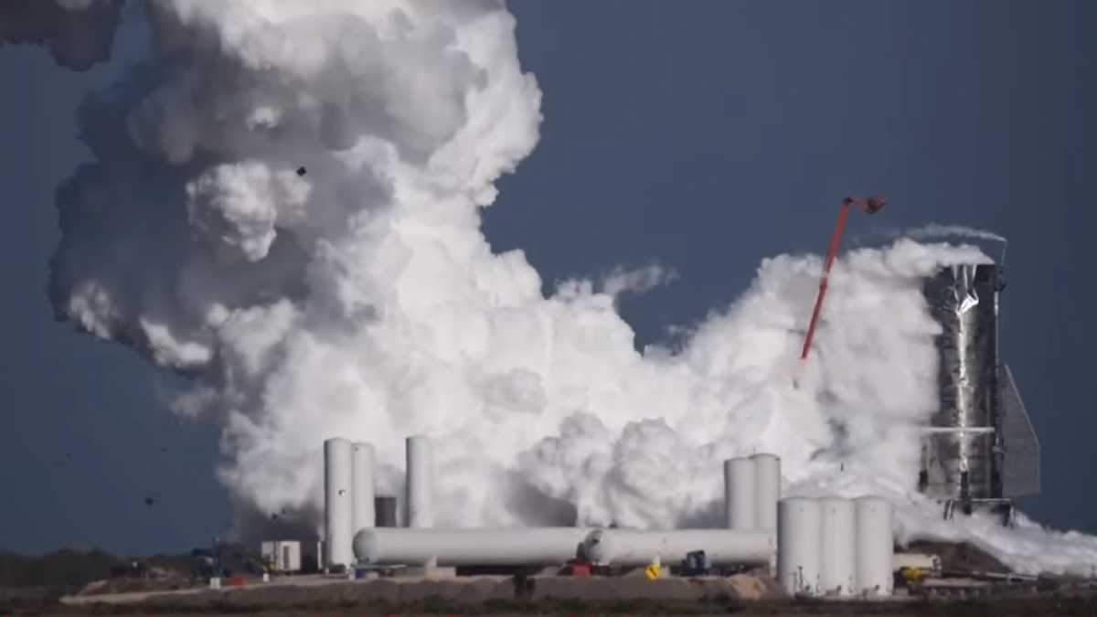 Starship Mk1 від SpaceX вибухнув під час випробувань – відео