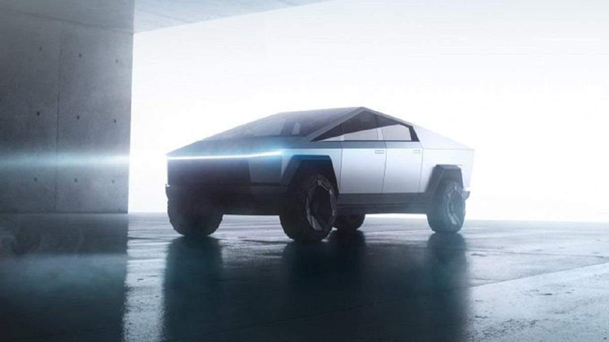 Новий Cybertruck від Tesla
