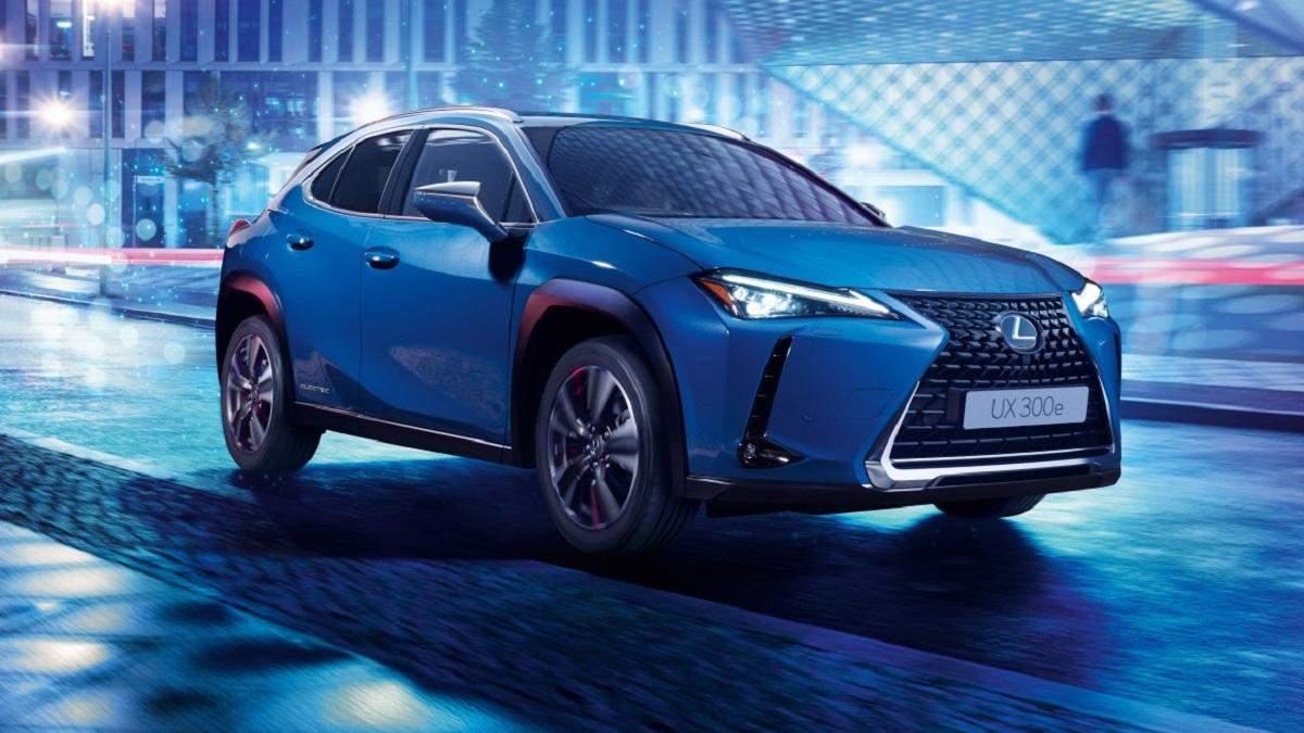 Lexus UX 300e надійде у продаж у Китаї та Європі у 2020 році