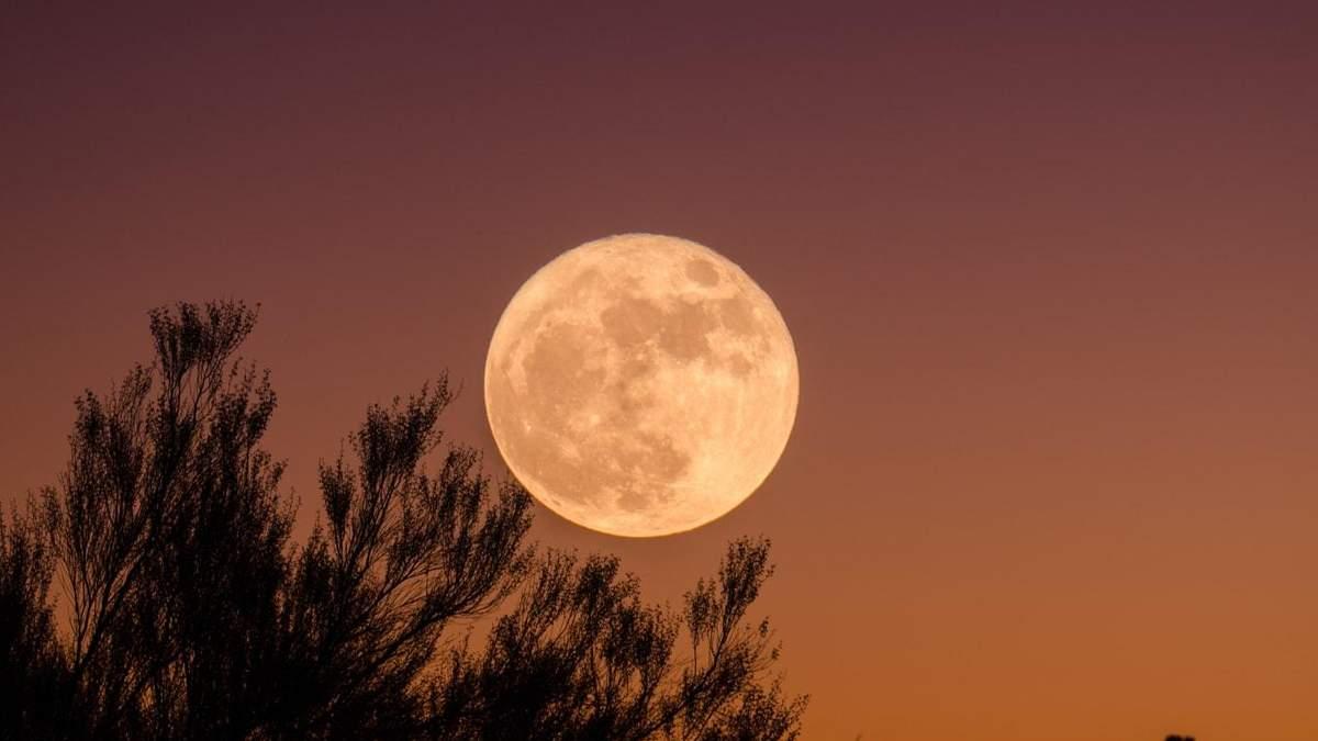 Коли повний місяць в грудня 2019 – дата і час повного місяця