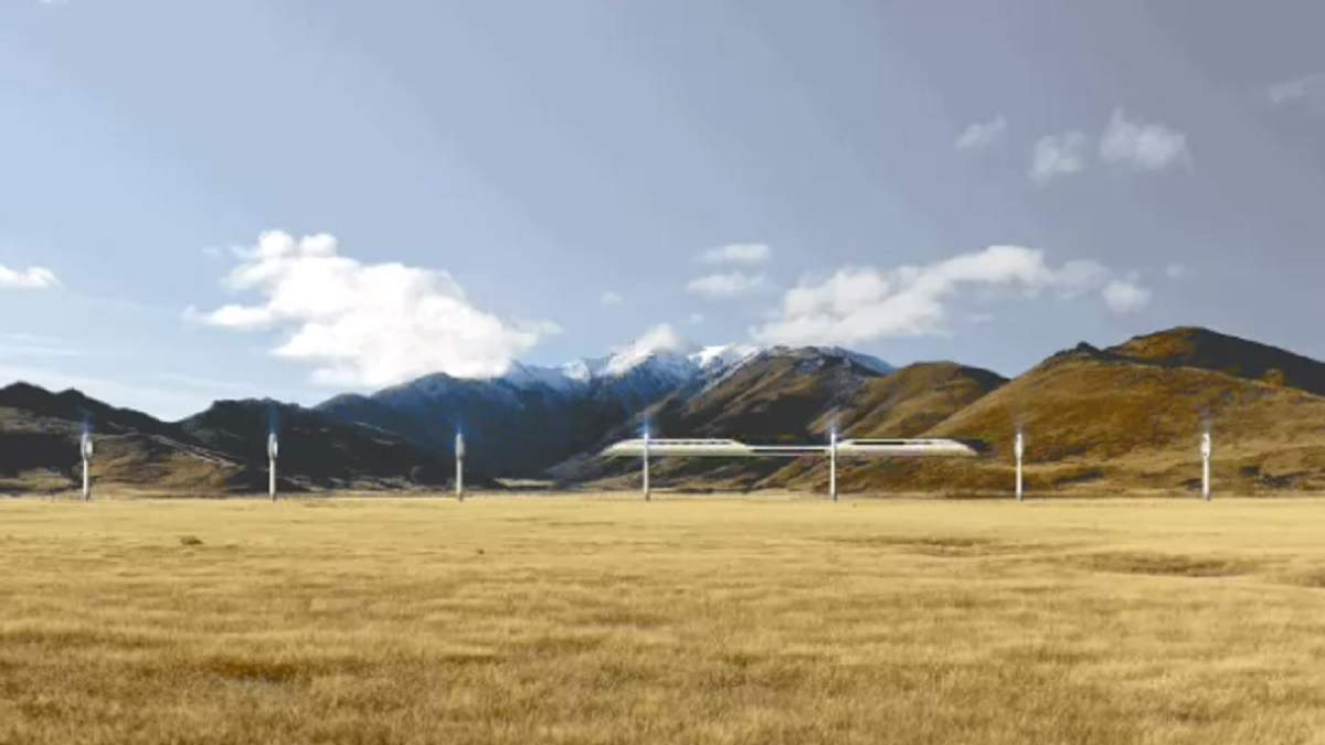 Міжконтинентальний магнітний потяг AeroSlider може прийти на зміну літакам