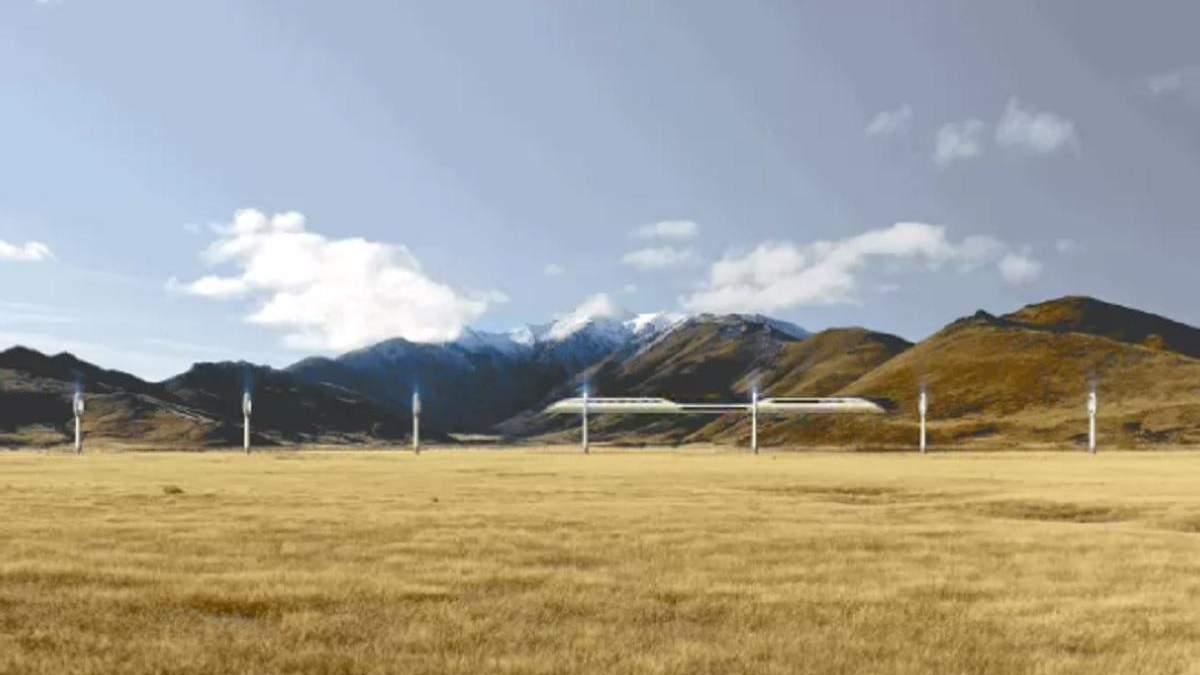 Межконтинентальный магнитный поезд AeroSlider может прийти на смену самолетам