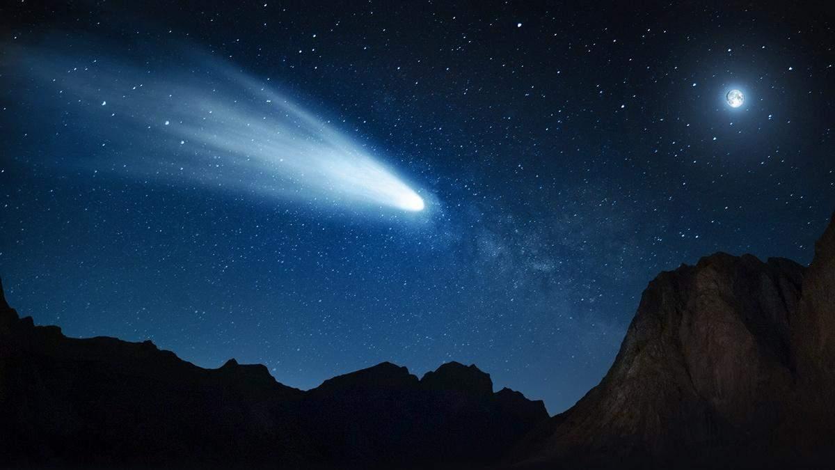 Науковці отримали знімок комети, яка рухається до Землі