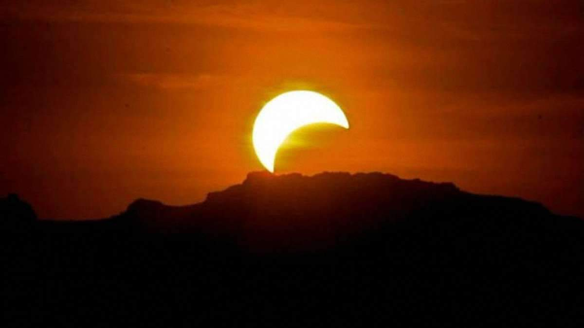 Сонячне затемнення 26 грудня 2019 – час сонячного затемнення