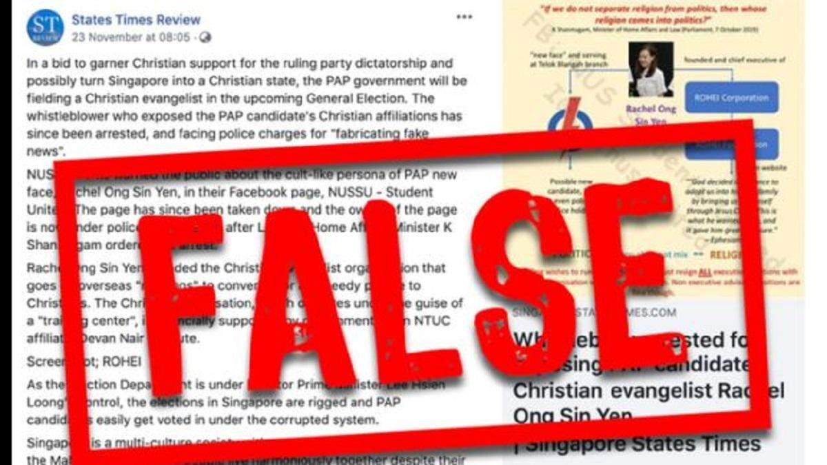 Facebook впервые обозначил пост как ложную информацию