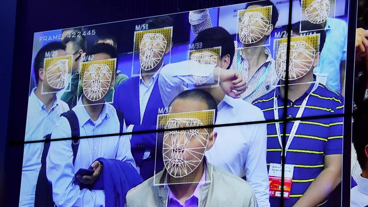 Користувачів смартфонів зобов'язали сканувати обличчя у Китаї