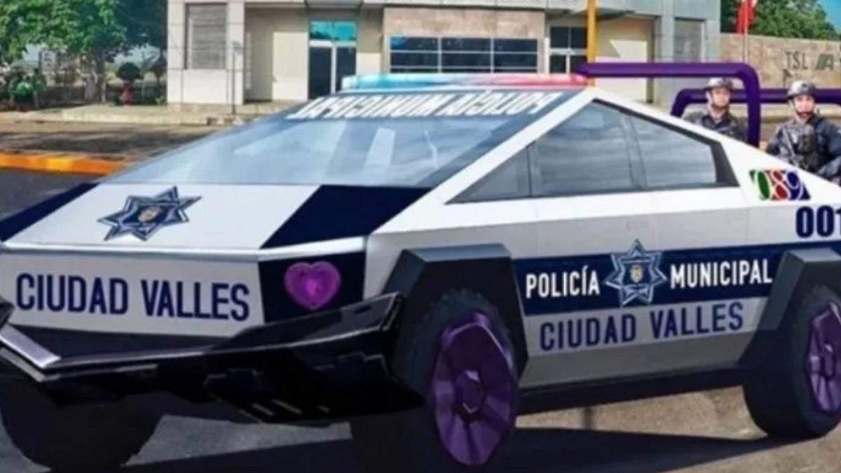 Мер мексиканського міста замовив 15 Cybertruck для місцевих копів