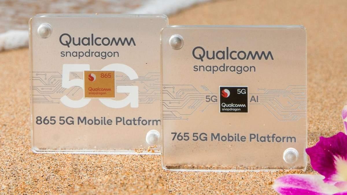 Qualcomm Snapdragon 865 та Snapdragon 765: особливості