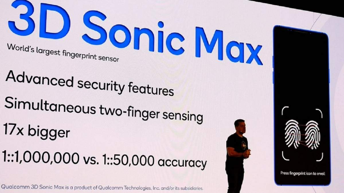 Qualcomm представила первый в мире сканер отпечатков для двух пальцев: что о нем известно