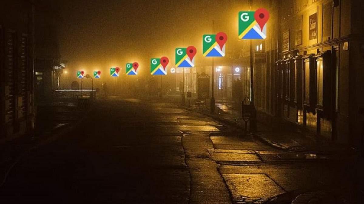 """""""Google Карты"""" сделают ночные прогулки более безопасными"""