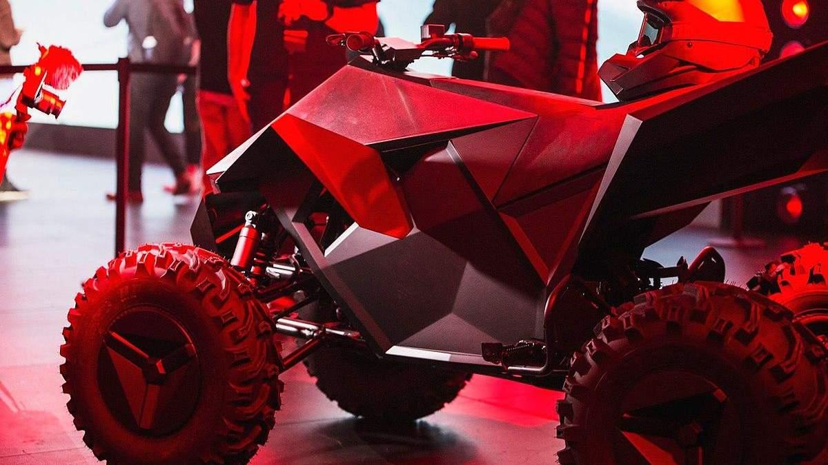 Илон Маск назвал дату выхода первого электрического квадроцикла – Tesla Cyberquad