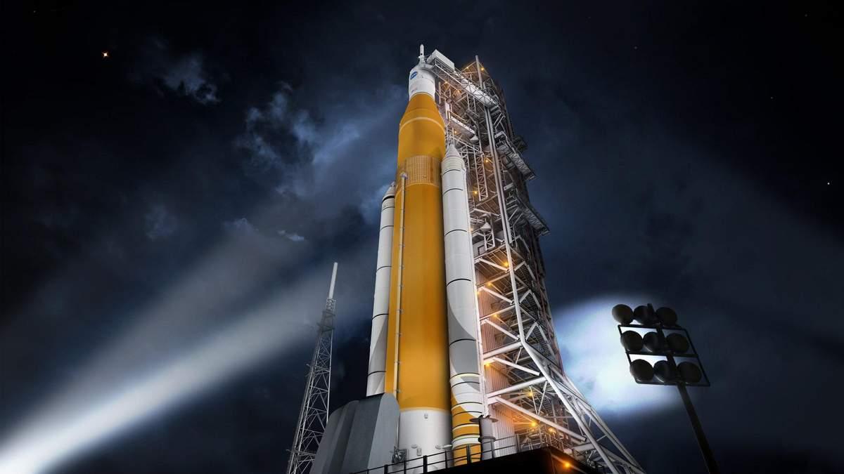 NASA представило найпотужнішу ракету-носій за всю історію людства: фото та відео