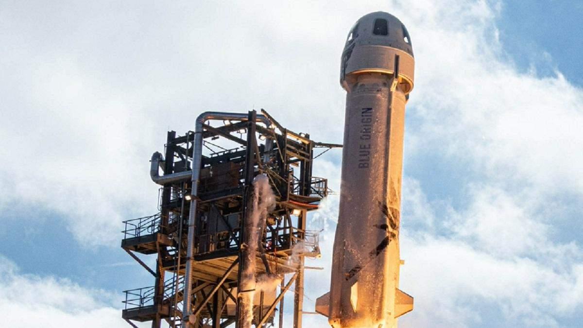 Ракета Безоса готова відправити туристів у космос вже наступного року
