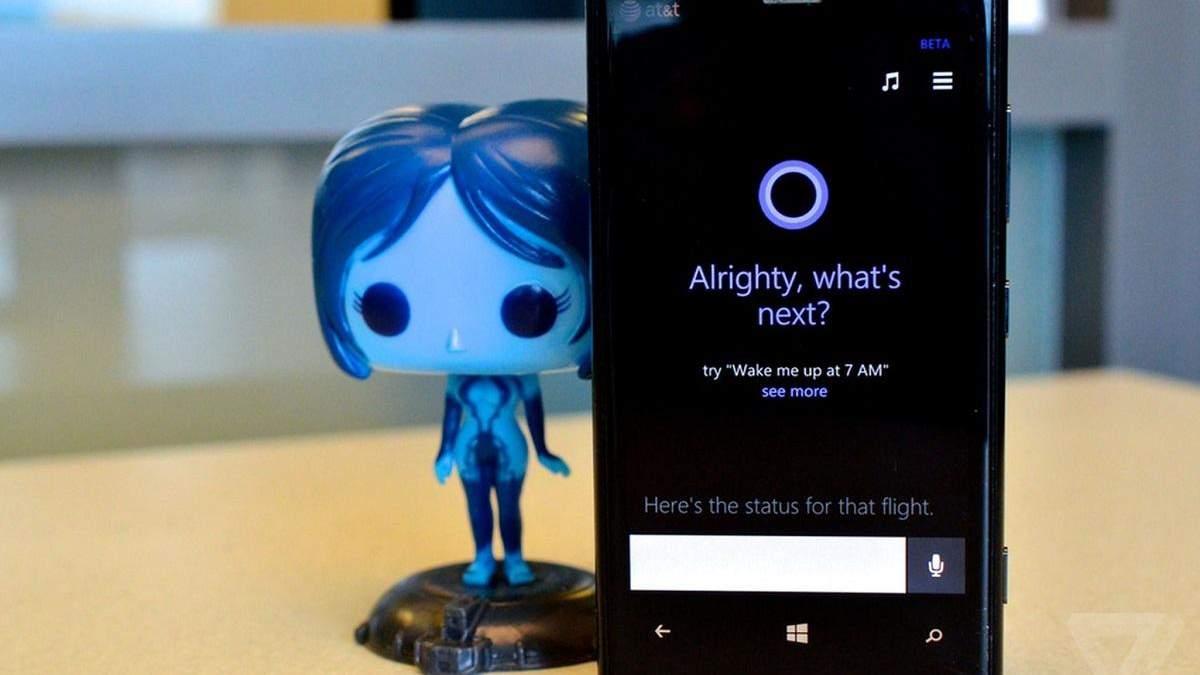 """Microsoft """"поховала"""" ще один свій продукт: мобільна версія Cortana покидає продукти компанії"""