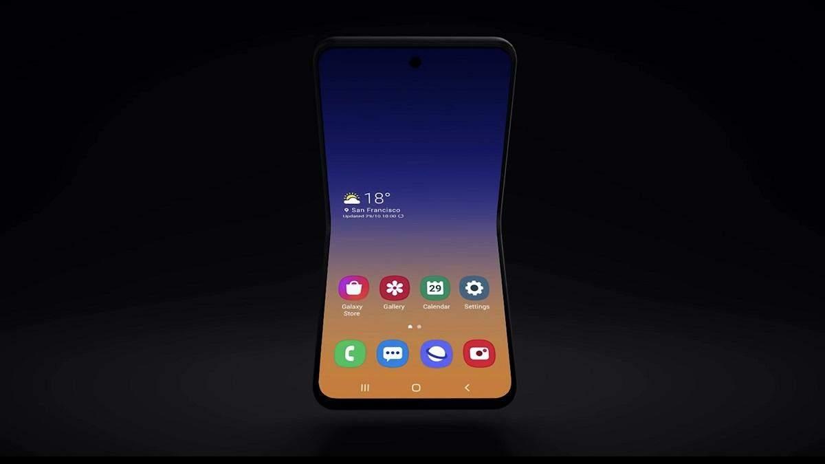 Смартфон Samsung Galaxy Fold 2 может получить дисплей из революционно нового материала
