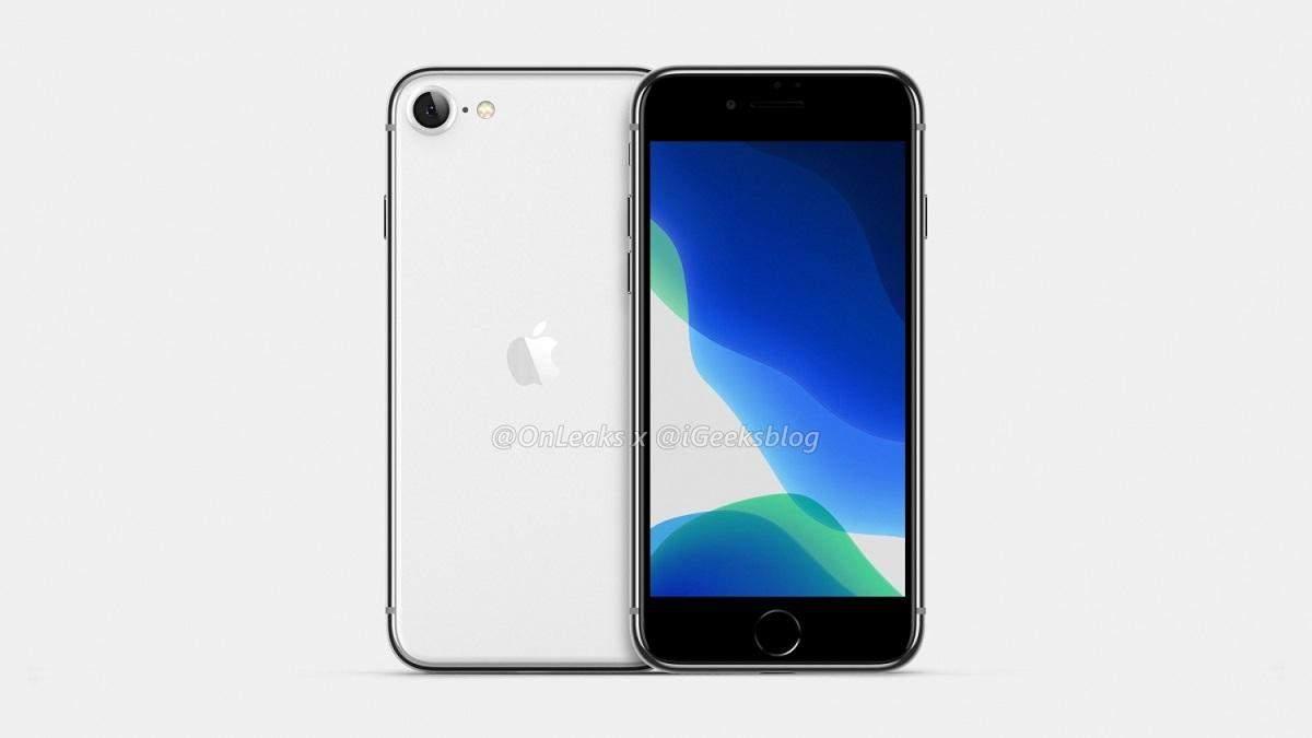 iPhone SE2 2020: появились новые рендеры и характеристики смартфона