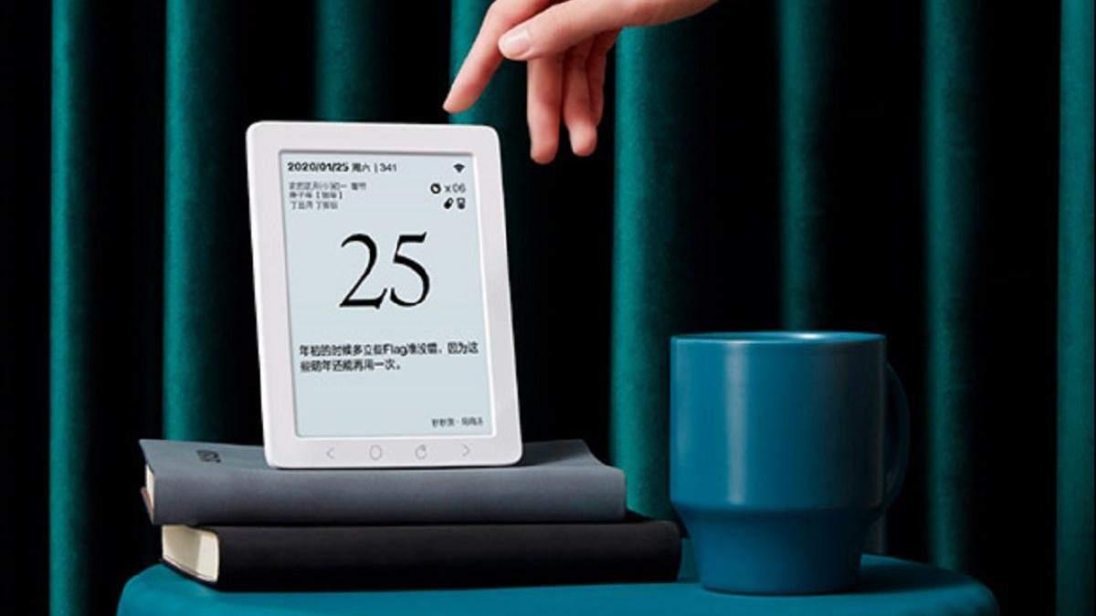 Xiaomi выпустила электронный календарь с WiFi