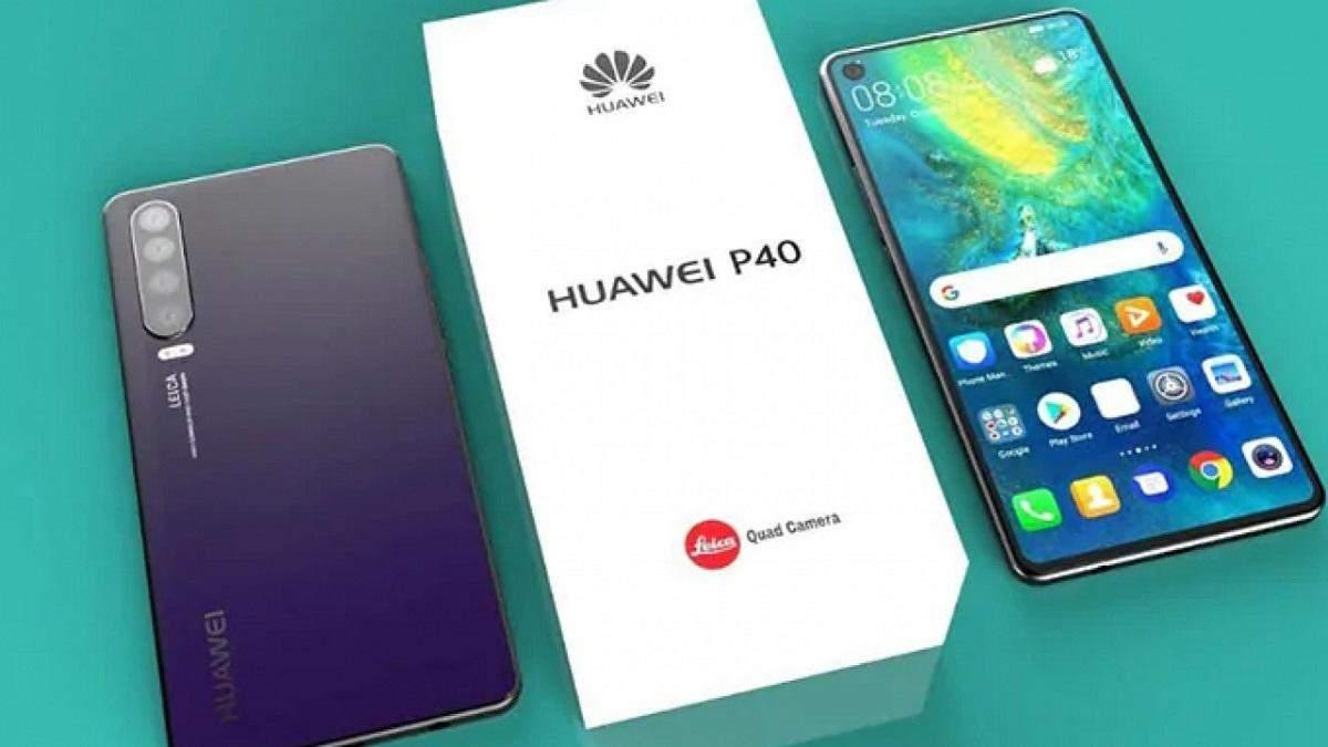 Офіційний рендер Huawei P40 розкрив цікаві деталі флагмана