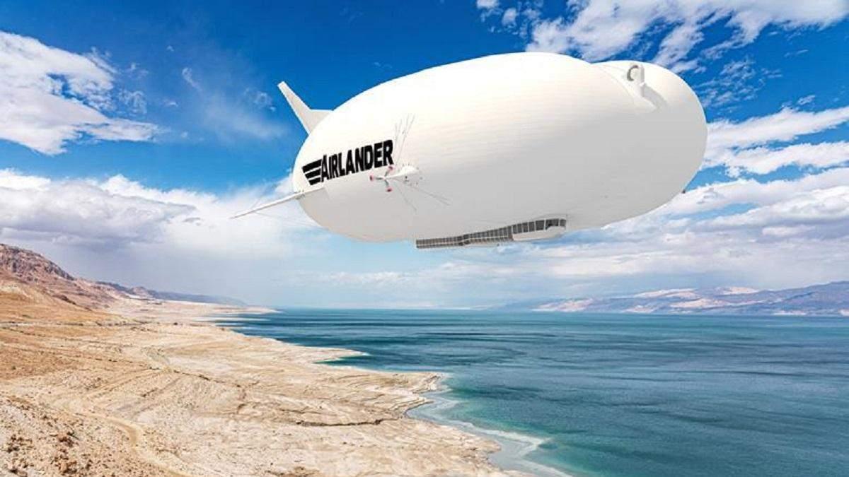 Представлено найбільший серійний дирижабль у світі