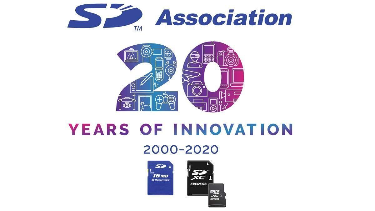 Карта пам'яті SD святкує 20-річний ювілей