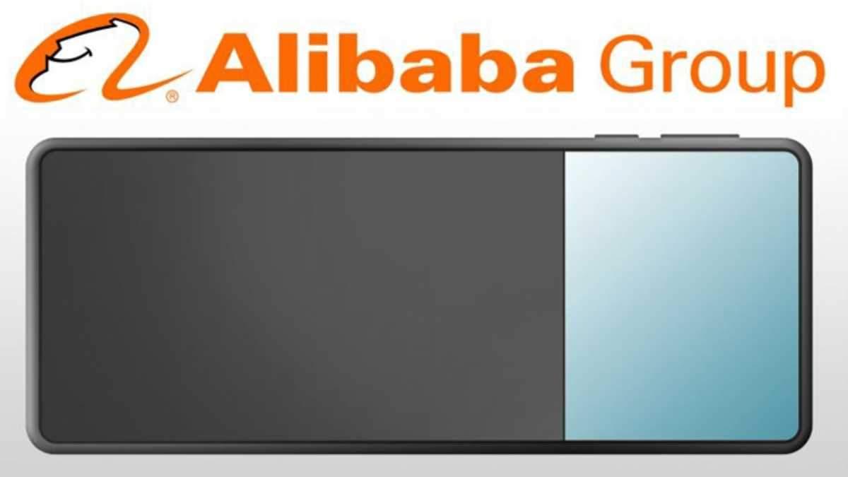 Alibaba разрабатывает очень необычный гибкий смартфон: изображение