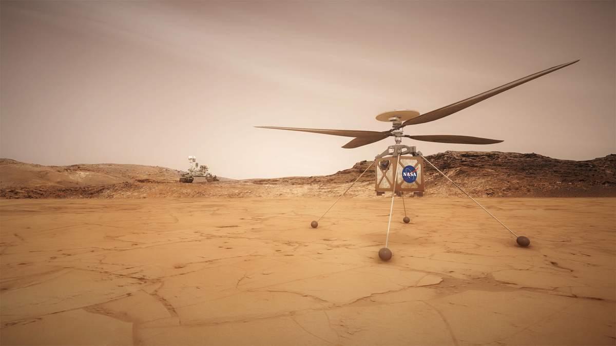 Новый марсоход получит мощный лазер: для чего он