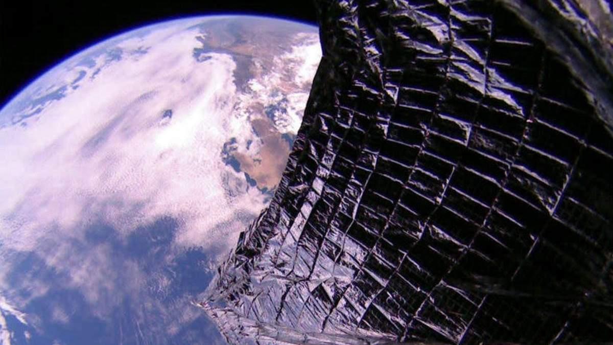 Космічний вітрильник LightSail 2 надіслав на Землю нові знімки