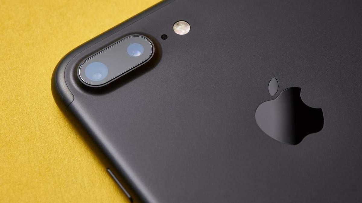 """Постраджала"" модель iPhone 7 Plus"