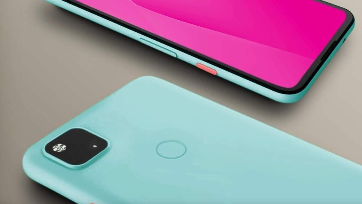 Вероятный дизайн Google Pixel 4A