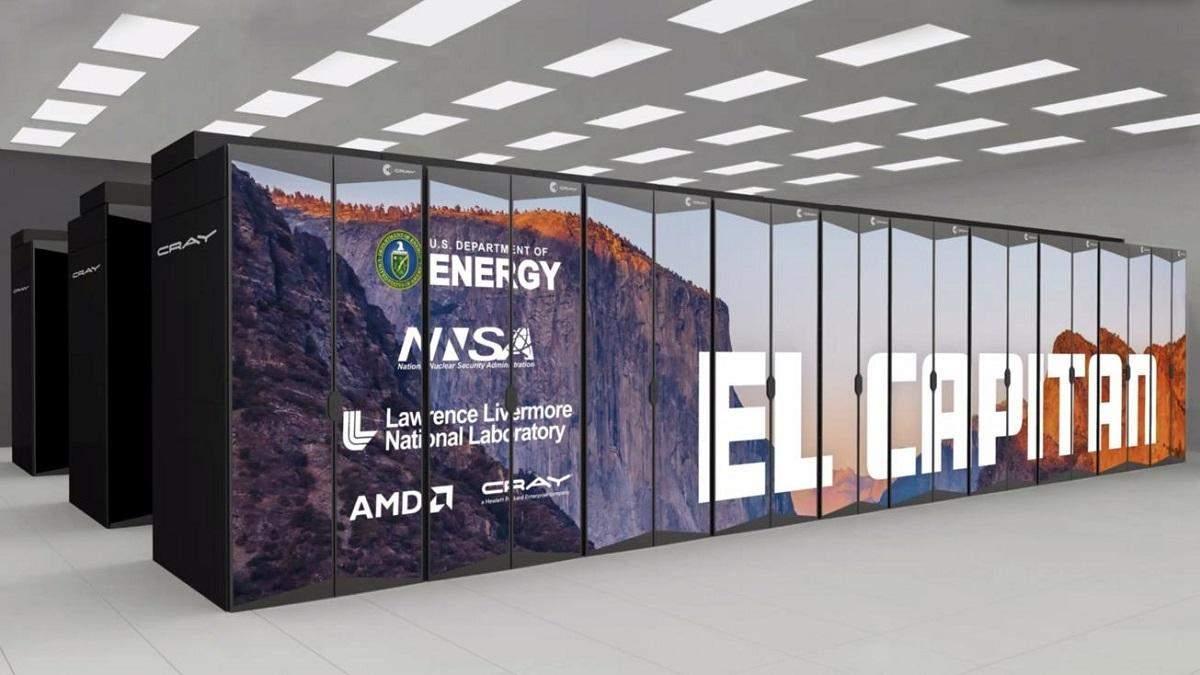 AMD анонсировала самый мощный суперкомпьютер в мире