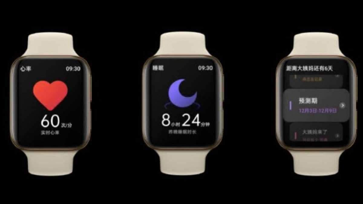 Клон Apple Watch: Oppo випустила свій перший розумний годинник