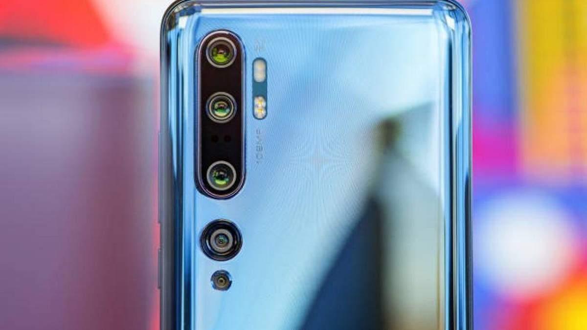 Xiaomi Mi10 Pro получил мощную камеру