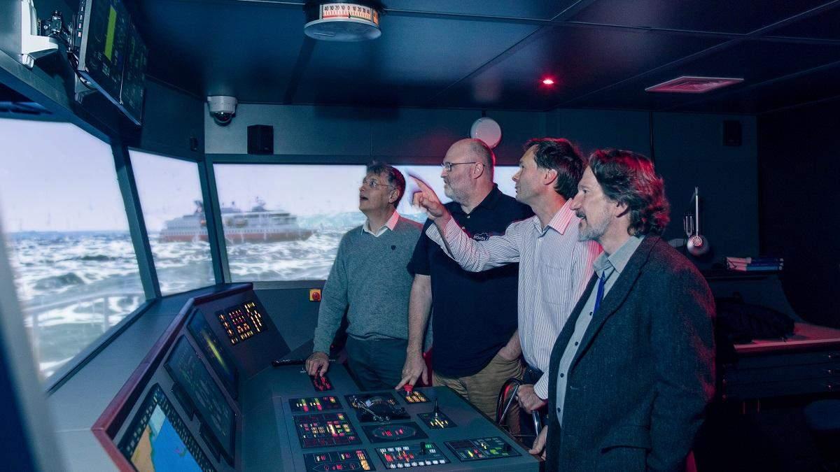 Автономний корабель Mayflower випробують у морі