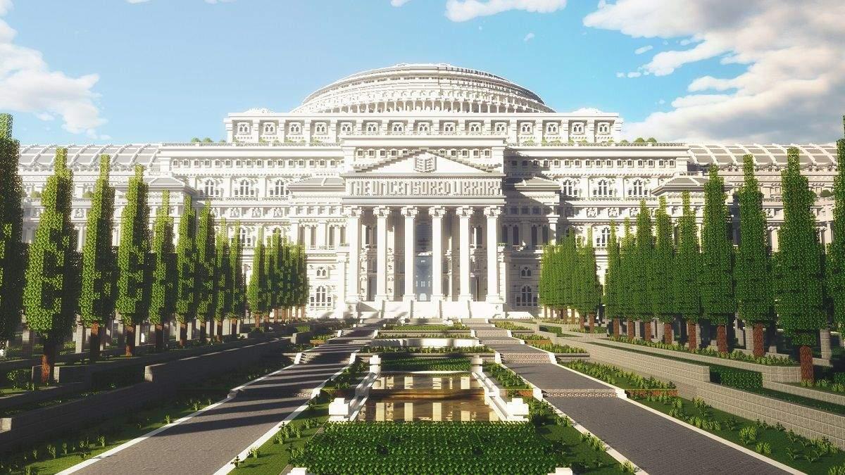 Віртуальна бібліотека в Minecraft