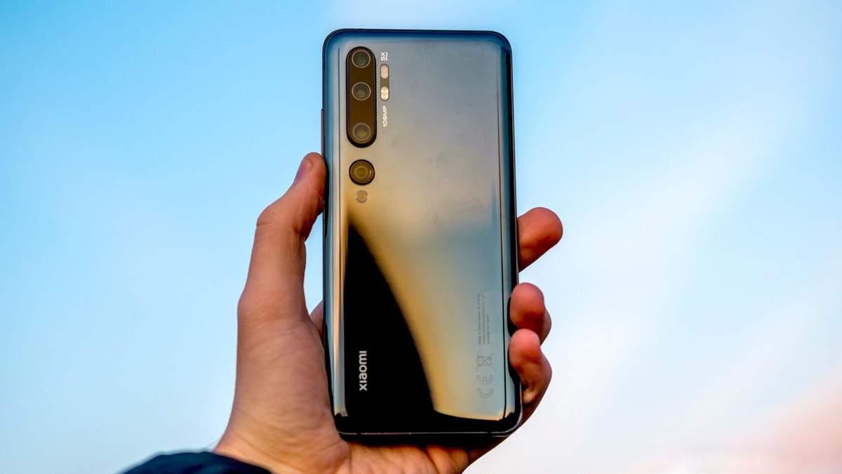 Xiaomi Mi Note 10 та інші смартфони знімають з продажів