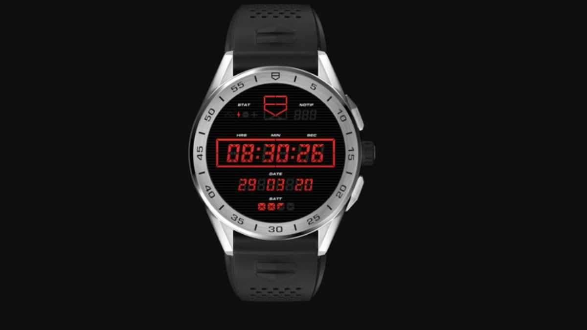 Елітний годинник Connected Tag Heuer