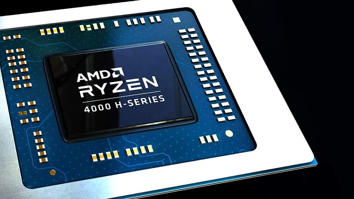 Процесор AMD Ryzen 9 4900H для ігрових ноутбуків офіційно надійшов у продаж