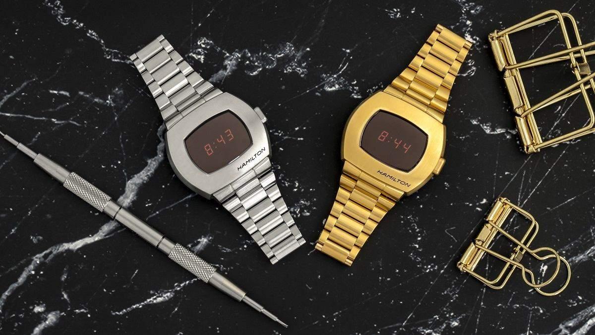 Повернення легенди – Hamilton перевипустить перший цифровий наручний годинник Pulsar: фото