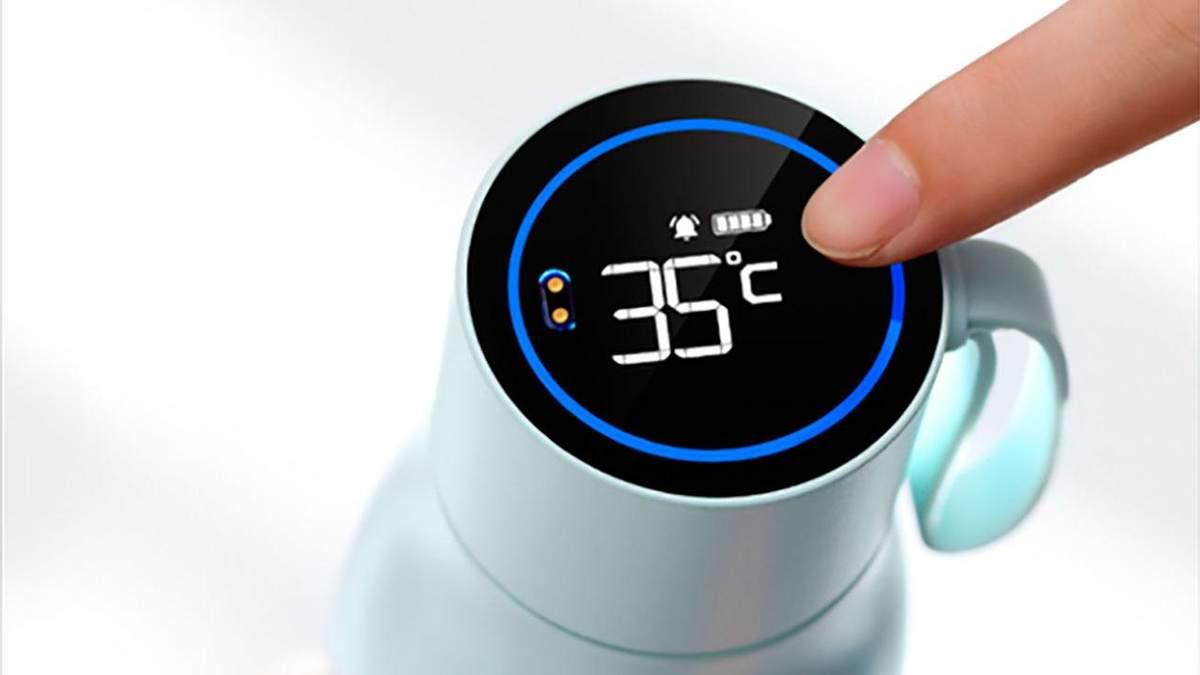 Huawei представила умную термокружку: особенности и приятная цена
