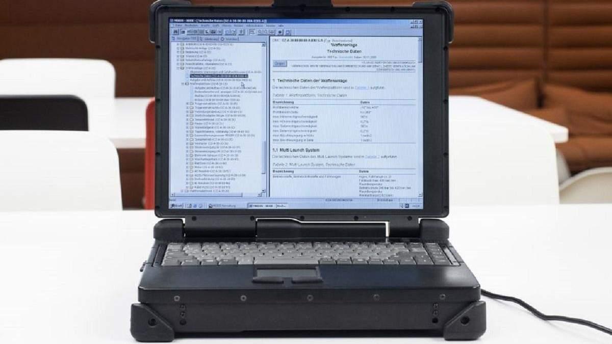На eBay купили військовий ноутбук і виявили на ньому секретні програми та документацію