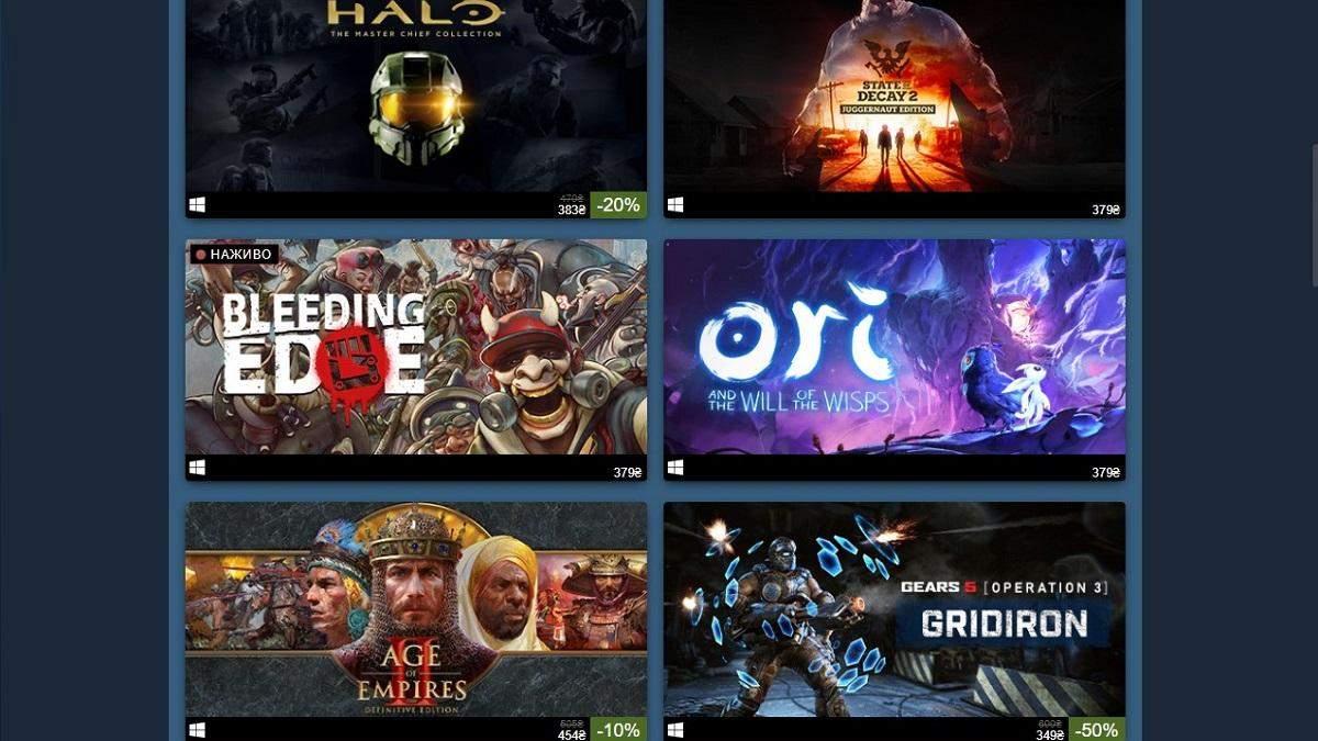 В Steam началась распродажа игр Xbox Game Studios со скидками до 75%