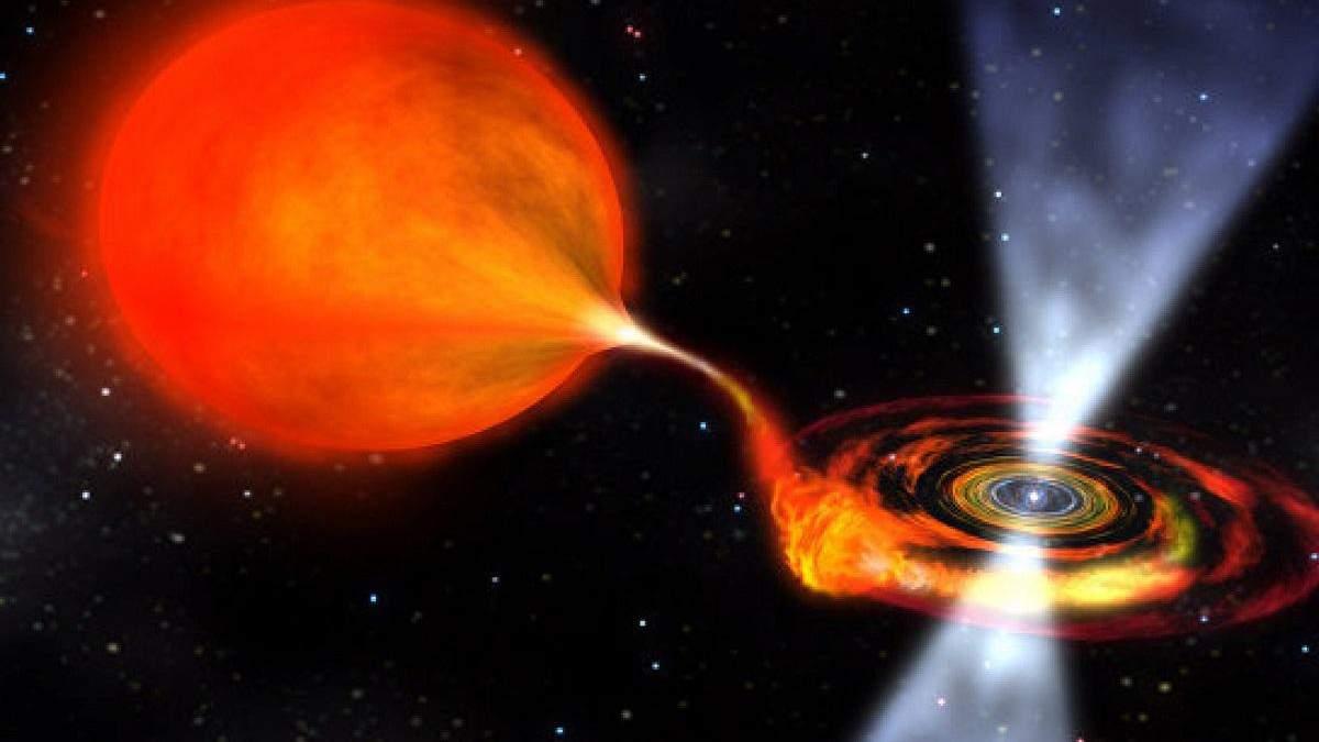 Космічна обсерваторія зафіксувала пробудження чорної діри