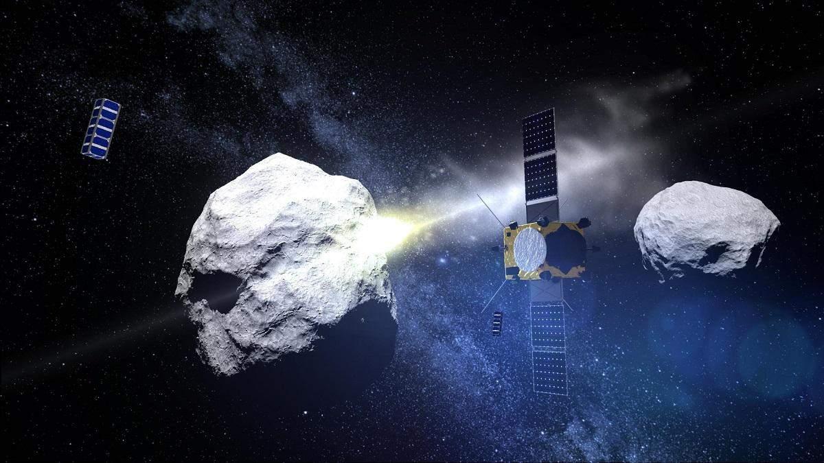 NASA на практике испытает защиту Земли от астероидов
