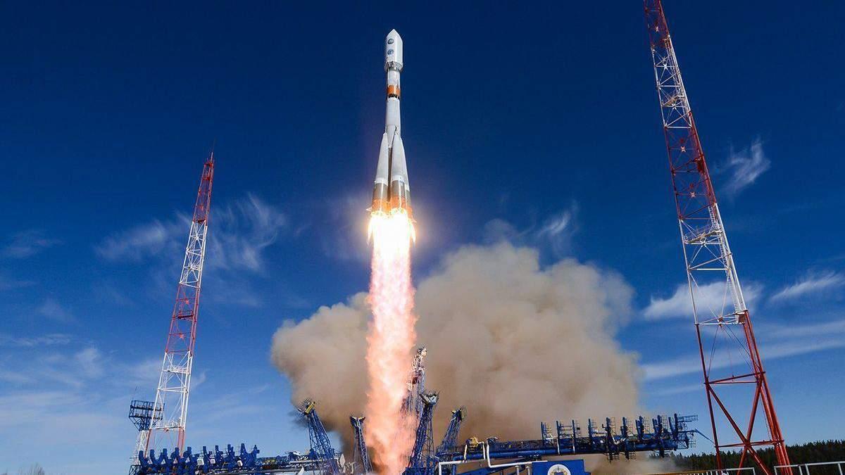 """Запуск """"Союз МС-16"""": на МКС отправляются трое членов экипажа:видео"""