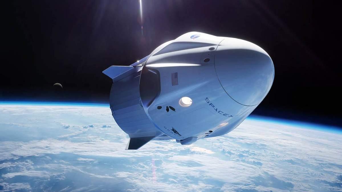 Космический корабль Илона Маска успешно доставил груз с МКС