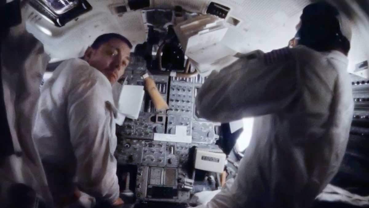 Новые фото из миссии Apollo 13